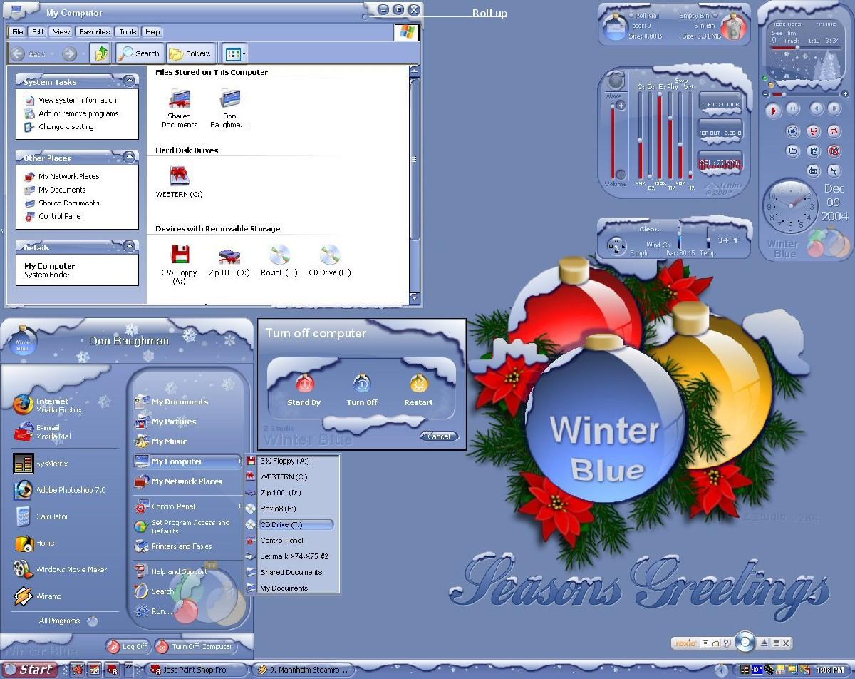 don5318 圣诞主题桌面设计图片