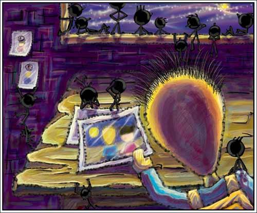 心情绘本 萝卜头的故事 - 咖啡小豆 - ☆紫椴の香舍☆