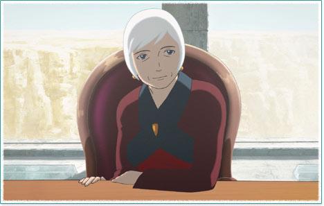 动画大片《银色头发的阿基德》剧照
