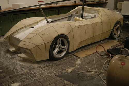 汽车模型制作过程_汽车图片