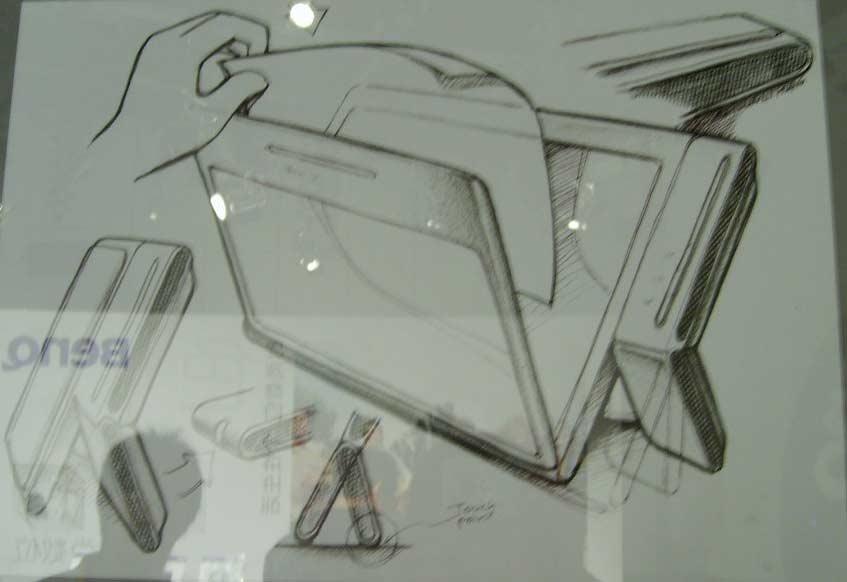 明基设计师手绘稿; 产品设计&工业造型