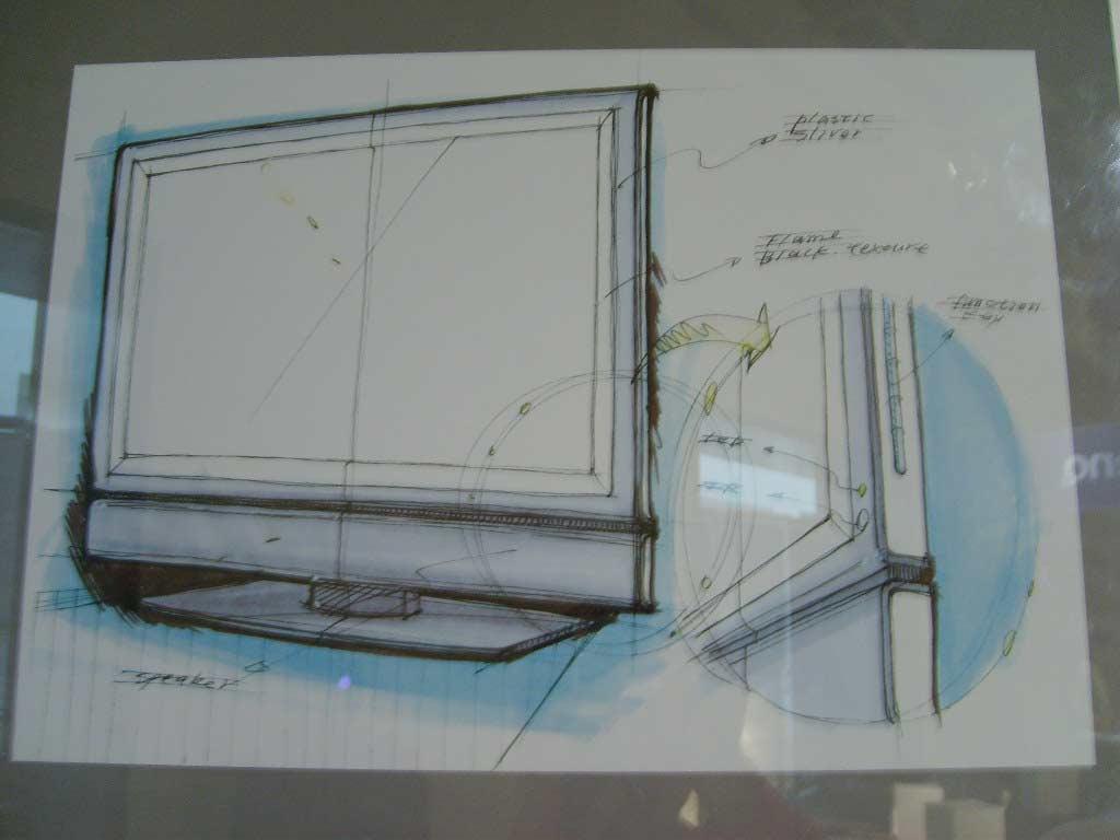 明基设计师手绘稿