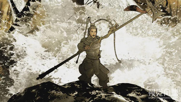 水墨战争-三国志11游戏片头欣赏
