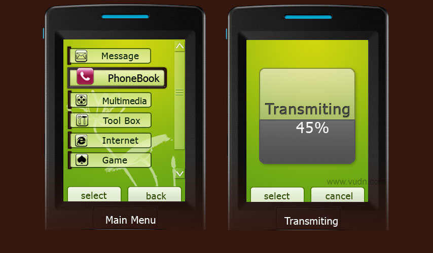 手机界面设计欣赏(2)
