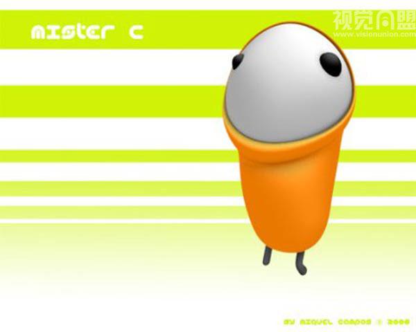 campos的可爱简单卡通角色(1)
