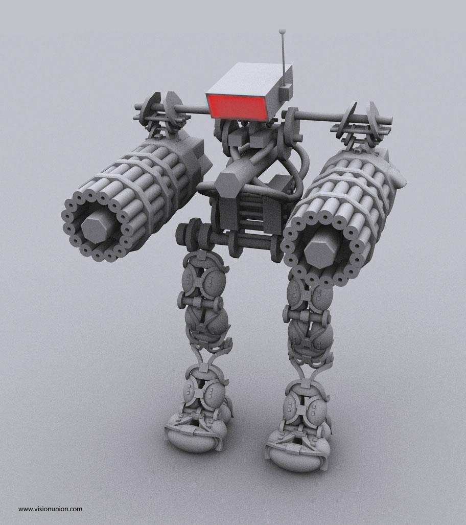 机器人角色设计