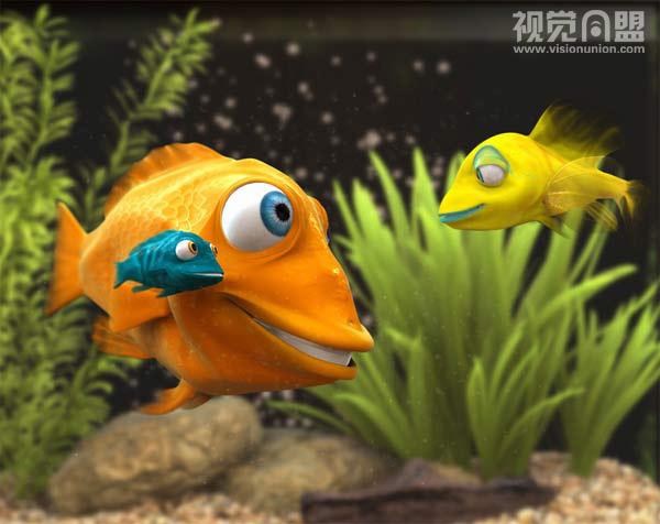 三维动物可爱卡通造型设计(1)