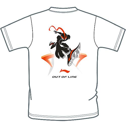 T恤-我的新运动主张-李宁T恤图形设计大赛获奖名单揭晓 - `简单.~````` - NITUTU视觉摄影
