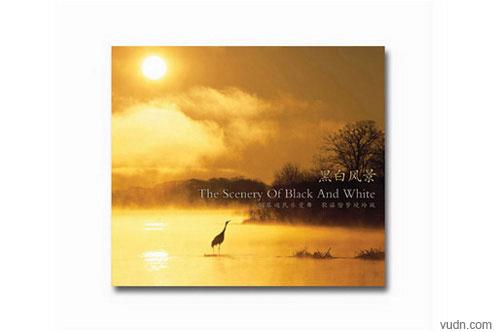 张洪科《黑白风景》唱片封套设计
