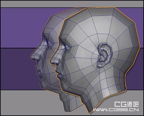建模布线图的maya教程(1)