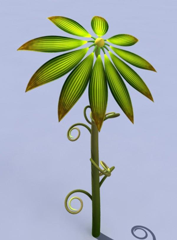 3ds max教程:制作卡通风格菜园(2)图片