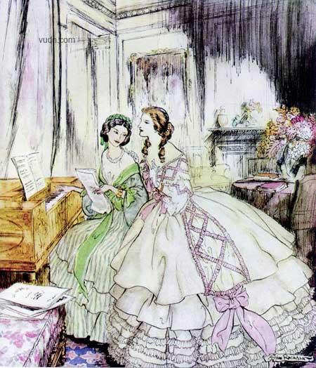 复刻维多利亚时代的美丽--Arthur Rackham的插画 - 纳兰妙殊 - 纳兰妙殊