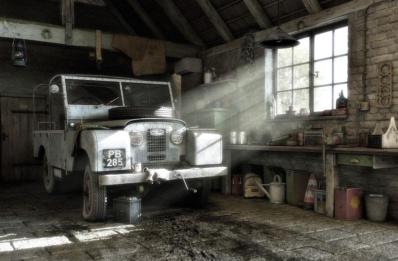 各国知名CGer汽车CG模型作品欣赏