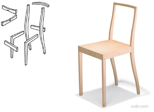 贾斯珀莫里森设计的各种形态材料的椅子  软木塞椅 限量版的软木塞椅有着众多的追随者。   折叠椅 聚丙烯材料折叠椅,轻巧方便,很适合户外使用。  架子是轻巧的铝管,加上聚丙烯皮带做成椅背和坐的面。很方便的折叠搬运,是很适合的户外休闲用椅。  舒服的椅子,不锈钢的腿上加上皮革和织物。  简简单单的木结构椅子,组装很方便。  轻便,而且存放的时候很节省空间。  很有古典的感觉的椅子  简单,轻便,容易存放的扶手椅