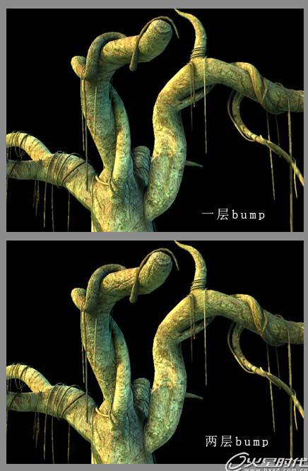 树叶恐龙贴画作品