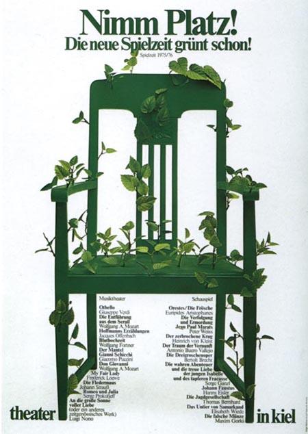 充满诗意的文章_德国设计大师霍尔戈·马蒂斯海报设计 - 视觉同盟(VisionUnion.com)