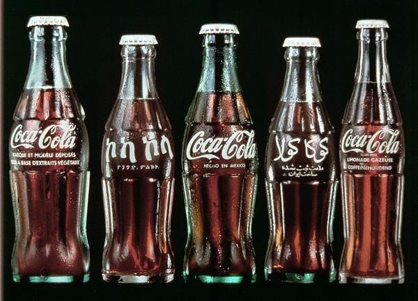 可口可乐瓶的进化史