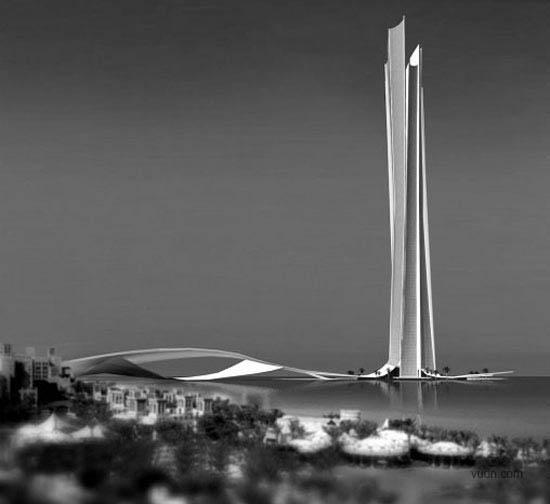 未来世界第一高楼:wave