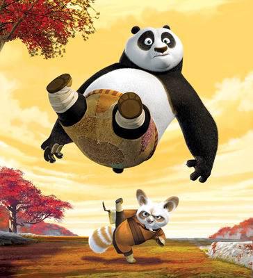 中国元素的成功运用《功夫熊猫》