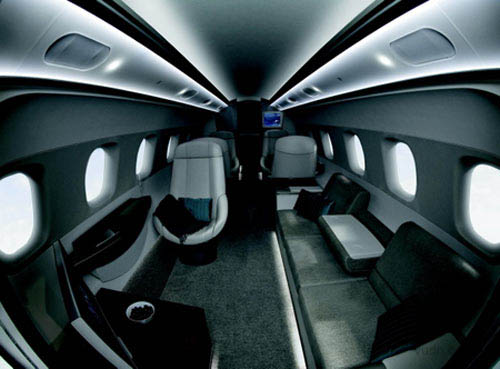 世界最豪华的飞机内部设施设计