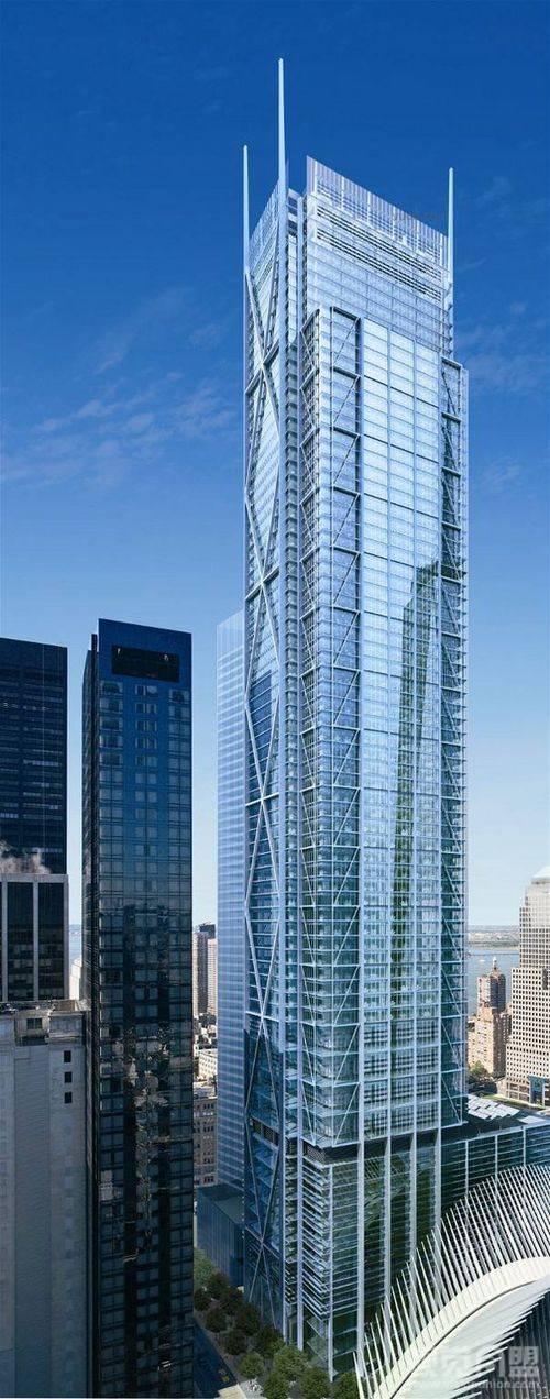 曼哈顿重建的世贸双子星塔