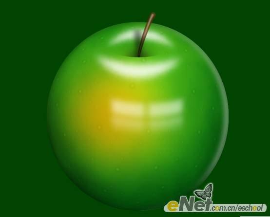 十步苹果素描步骤图