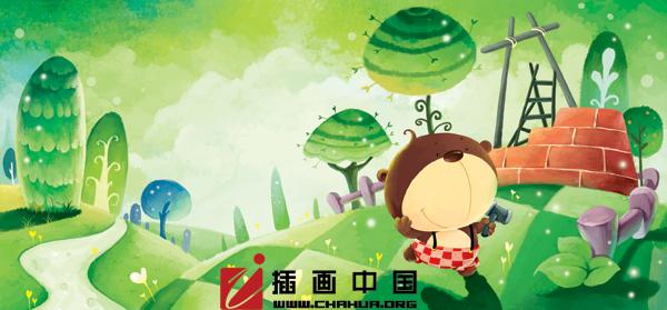 插画中国美术手绘插画培训班招生