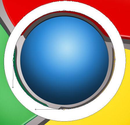 制作google chrome浏览器logo