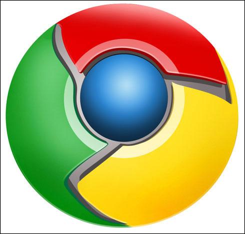 制作google chrome浏览器logo图片