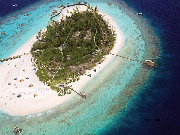 马尔代夫岛屿开发——funamadua岛