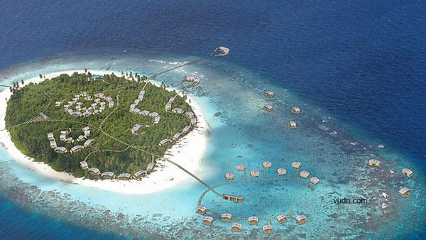 马尔代夫岛屿开发之hadahaa岛