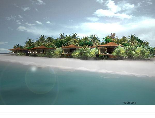 马尔代夫岛屿开发之randheli岛