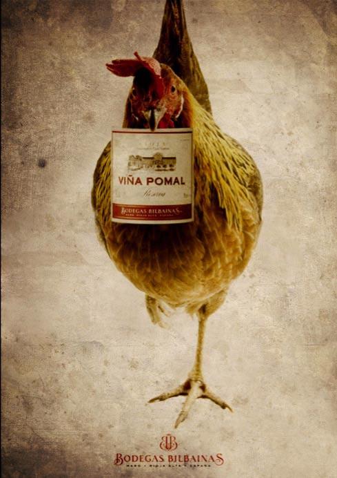 pomal系列红酒创意广告欣赏;图片