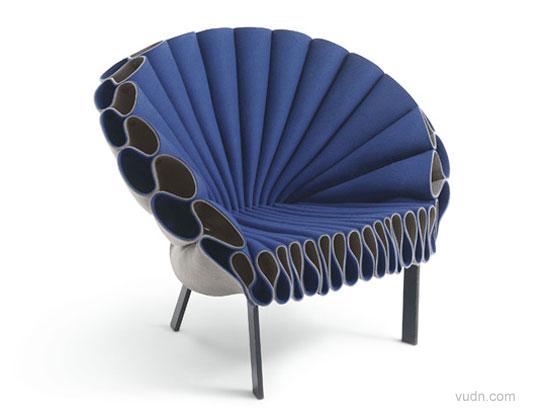 立体构成木条椅子