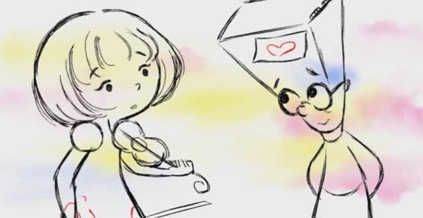 幼儿人物简笔画 小男孩