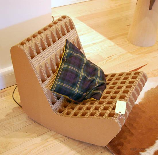 miller瓦楞纸家具设计