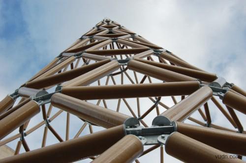 世界上最高的纸塔
