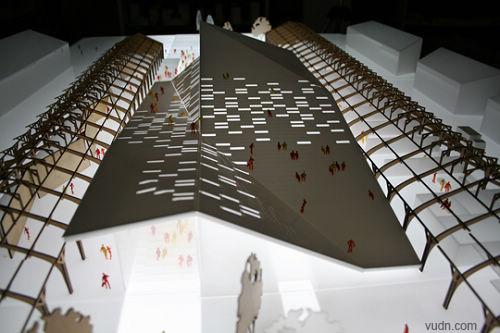 建筑两点透视画法步骤