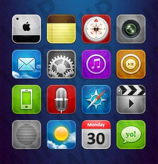 iphone圖標設計 1