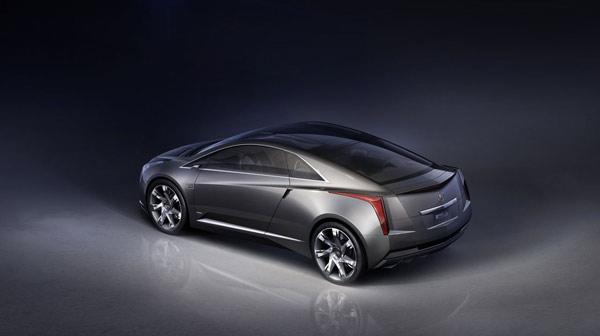 凯迪拉克converj概念车外形设计