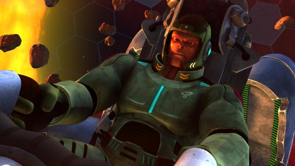 充满诗意的文章_三维科幻动画电影《超蛙战士》高清预告 - 视觉同盟(VisionUnion.com)