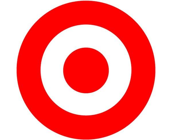红色圆形矢量图