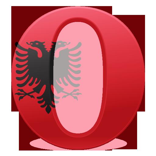 作的Opera各国国旗图标