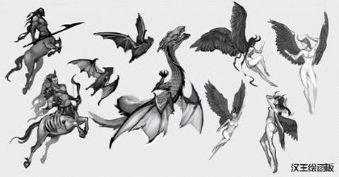 汉王能力板结合数位v能力华丽恶魔主角《软件王漫画者漫画图片