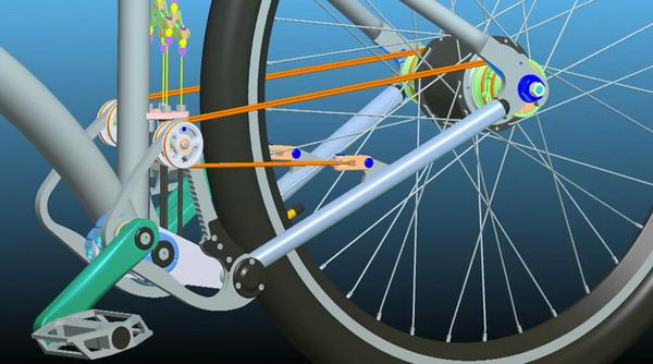 自行车传动装置设计