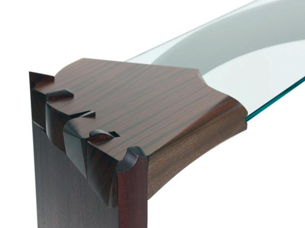 卯榫结构咖啡桌设计