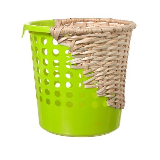 杂交竹编垃圾桶设计