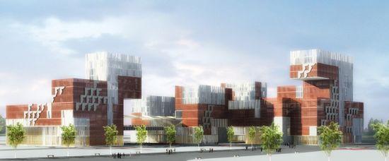 上海复旦大学新校区