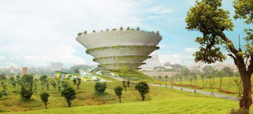 螺旋园林博物馆你见过吗?