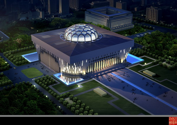 全球资讯_山东博物馆新馆 - 视觉同盟(VisionUnion.com)